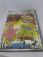 The SpongeBob SquarePants Movie Video Game Xbox 2004 With Box No Manual