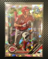 2019 Bowman Chrome Nick Senzel Atomic Refractor Rookie Rc Reds Short Print SP