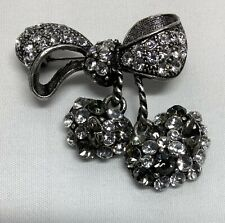 Sparkle Pin Brooch 210307Mgo/Ja Victorian Trading Co Bow Rhinestones