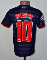 ARSENAL LONDON 2012/2013 AWAY FOOTBALL SHIRT NIKE WILSHERE #10 SIZE S ADULT