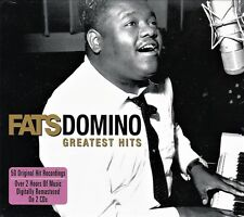 FATS DOMINO GREATEST HITS - 50 ORIGINALS NEW SEALED 2CD