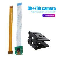 Mini Video Webcam Video 1080P 5MP Camera Module Flex Cable+Holder for RPi 3B+/3B
