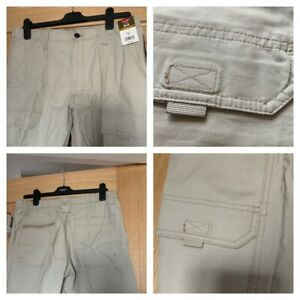 WRANGLER SHORTS mens - relaxed fit - stone colour - sizes 30-40 - NEW
