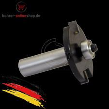 2mm Schlitzfräser Nutfräser für Oberfräser 2x41mm Schaft 6mm