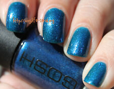New! GOSH Nail Color Nail Polish BLUE MONDAY #547 ~ Medium Blue Jelly Shimmer
