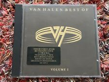 Van Halen Best Of Volume One CD Album David Lee Roth Sammy Hagar