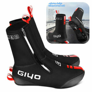 Winter Fahrrad Schuh Gamaschen Wasserdicht MTB Überschuhe Regenschutz  L-2XL DE