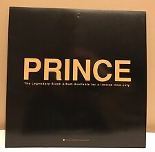 PRINCE BLACK ALBUM PROMO ONLY WINDOW DISPLAY WARNER WB 1994 CAMILLE DOUBLE SIDED