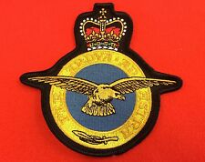RAF Embroidered Crest Badge (Royal Air Force)