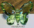 "Swarovski Crystal 2006 Large Peridot Green ""Brilliant Butterfly"" Figurine, Box"