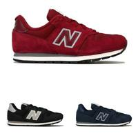Boys New Balance 373 Lace up Breathable Cushioned Trainers