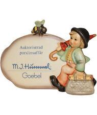 Hummel Merry Wanderer Plaque NIB Sweden Authorized Retailer Plaque NEW IN BOX