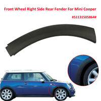 Front Wheel Right Side Lower Rear Fender Arch Cover Trim For Mini Cooper 02-08