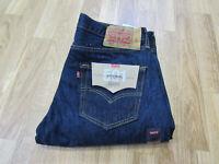 Men's Levi's® 501™ Original Fit Button-Fly Jeans Indigo Size 32X34 New