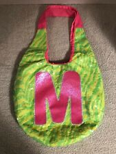 "Justice Girls Purse Handbag. Letter ""M"""