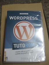TUTOROM Formation WordPress sur CD neuf