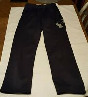 Boys Under Armour Cold Gear Storm 1 Sweat Pants Black Youth Large