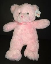 "Baby Gund 10"" Small Pink My First Teddy Bear style 21028 plush stuffed toy"