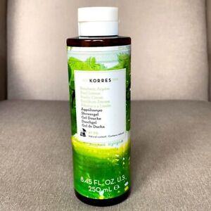 Korres Basil Lemon Shower Gel Body Wash Cleanser 8.45oz / 250mL Full Size NEW