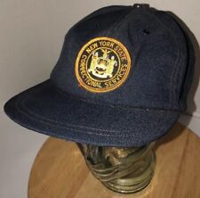 Vintage NEW YORK STATE CORRECTIONAL SERVICES Denim 80s Hat Cap Snapback Patch