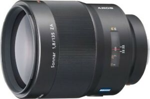 SONY Sonnar T 135 mm F 1.8 ZA SAL135F18Z from japan 100% Genuine Product