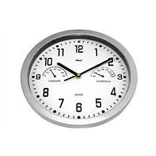 Quarz Wanduhr mit Thermometer & Hygrometer Küchenuhr Wand-Uhr 4017805069923