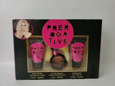 Britney Spears Prerogative Gift Set 1.0oz perfume lotion and body wash