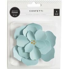 American Crafts Confetti Paper Flower Gift Accent - 236065
