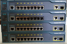 Cisco WS-C2960-8TC-L 8-port 10/100 Mbps 1 dual-purpose uplink LAN Base Switch