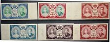 Monaco 1956 566-68 U non dentele Royal wedding G. Kelly Colour PROOF essay MNH