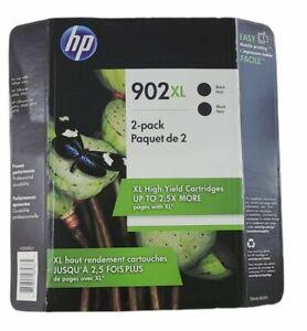 2-PACK HP GENUINE 902XL BLACK INK (WAREHOUSE STORE PACK) OFFICEJET PRO 6970 6974