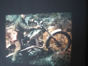 16mm Film Motorcycle Trials 1948 Scottish Highlands Colour 300ft