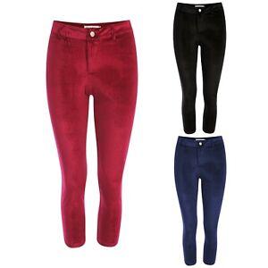 New Women's High Waist Plush Velvet Velvety Soft Leggings Pants Trouser Legging