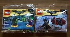 Lego The Batman Movie Exclusive 30522 Phantom Zone & 30523 Joker Battle Training
