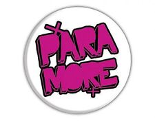 PARAMORE logo - BUTTON BADGE official licensed merchandise