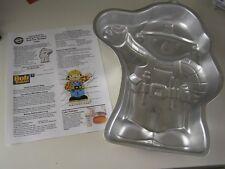 Wilton 2002 BOB The BUILDER Cake Pan Mold #2105-5025 w/ Instructions