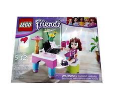 Lego Friend's Olivia's Desk 30102 New NIP