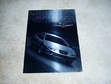 2001 Chrysler 300M sales brochure dealer literature DELUXE prestige