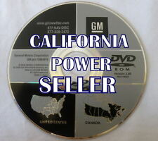 CADILLAC GMC CHEVROLET NAVIGATION DVD CD DISC 15934919 NAVAGATION DISK MAP 2.0