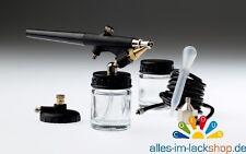 Airbrushpistolen Set, Air Brush Kit, Lackierpistole Airbrush Modellbau Autolack