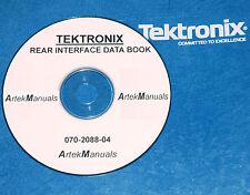 TEK TM500 / TM5000  REAR INTERFACE  BOOK (-04 REVISION)