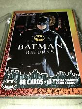 DC Batman Returns - 1992 - Topps - Base Card Set + 10 Stadium Club Cards
