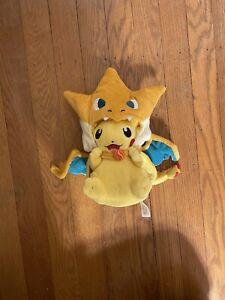 Pikachu Mega Charizard Y Ver. Plush Pokemon Center Mega Tokyo Limited