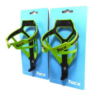 Tacx Deva Water Bottle Cages Pair Cannondale Green