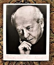 EUGENE ORMANDY Photograph HAND SIGNED, INSCRIBED & DATED 1971