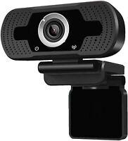 AIMIEI Webcam with Microphone, 1080P HD Streaming Web Camera, Plug Webcam-YK