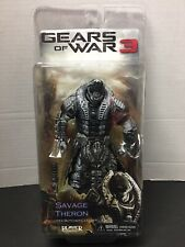 Neca Gears Of War 3 Savage Theron Black Face Plate.New!VHTF!