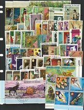 Burundi 100 Different Thematic Stamps All Large Pictorials CTO/Used