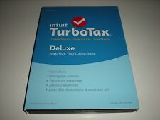 Turbotax 2015 Deluxe. Federal and State + Federal E-file. New in sealed box.