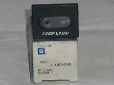 Genuine GM Roof Lamp Switch 15740765 fits 1997 S10/S15 Emergency Vehicles